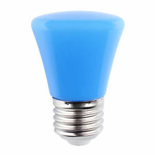 Mini AC 220V 3W E27 LED Light Ball Lamp Globe Golf Bulb in 7 Colors
