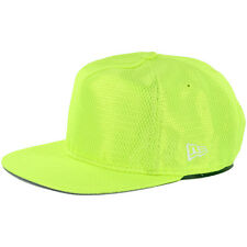 "New Era 9Fifty ""Breakout Flash"" Snapback Hat (Up Right Yellow) Mesh Neon Cap"