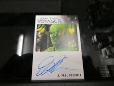 Star Trek Voyager Heroes & Villains - J. Paul Boehmer as One Autograph