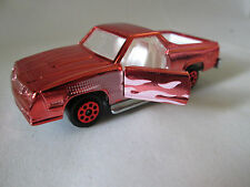 Majorette Orange mirror finish Chevrolet El Camino SS Car 296 1/59 France (Mint)