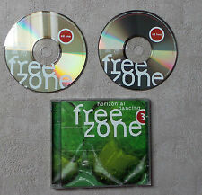 CD AUDIO / FREEZONE 3 : HORIZONTAL DANCING VARIOUS ARTISTS 1999  2 X CD COMPIL