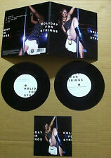 HOLIDAY FOR STRINGS w/ TOXIC AVENGERS REMIX Two of you Double 7 INCH Vinyl & CD