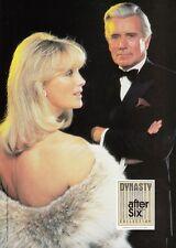 LINDA EVANS - JOHN FORSYTH - DYNASTY - SALE !!! - Rare AFTER SIX Promo Brochure