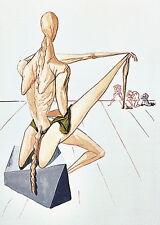 Salvador Dali, Divine Comedy, Inferno / Hell Canto 5: Minos - Original Woodcut