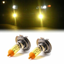 YELLOW XENON H7 100W BULBS TO FIT BMW x1 MODELS