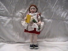 New NOS NORMAN ROCKWELL Character Doll Suzy Collectible Americana Classic 10 1/4