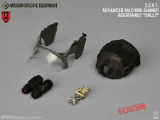 1/6 MSE ZERT Advanced Machine Gunner Sully USA: Black Multicam Helmet Visor NVG