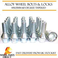 Wheel Bolts & Locks (16+4) 14x1.5 Nuts for VW Passat [B5F] 01-05