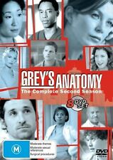 Grey's Anatomy : Season 2 ( 8 dvd Set) region 4