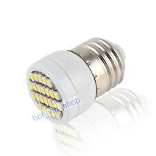 E27 24 SMD LED Spot Light Bulb Lamp Cool White 80-100lm 220-240V 1.5W 5500-6500K