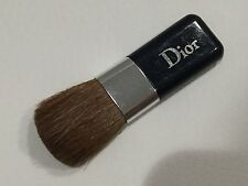 "NEW Authentic DIOR mini blusher blush brush Navy Blue silver logo 2"" For Compact"