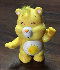 "Vintage 1983 Care Bears ""Funshine Bear"" 3"" PVC Collectible Figure GVC"