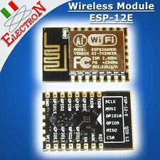 New ESP-12E / Esp8266 Serial WIFI REMOTE IOT NODEMCU TRANSCEIVER Wireless Module