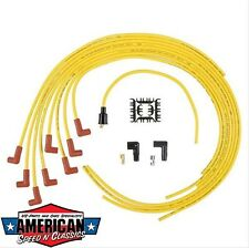 Zündkabel Set Universal Gelb ACCEL 4041 bright yellow 8mm Ford Mopar Chevy Rod