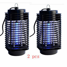 2 x Electric Mosquito Fly Bug Insect Zapper Killer Trap Lamp 110V Stinger Pest