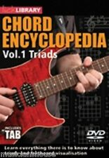 LICK LIBRARY CHORD ENCYCLOPAEDIA VOL.1 Learn to Play TRIADS Scales GUITAR DVD