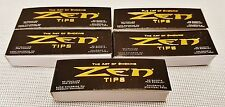 5 Packs Zen Filter Rolling Paper Tips 50 Per Pack The Art of Smoking Free Ship
