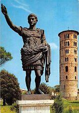 BT1075 ravenna statia di cesare augusta e companile della basilica italy