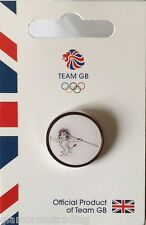 OFFICIAL TEAM GB RIO 2015 ATHLETICS MASCOT PICTOGRAM PIN