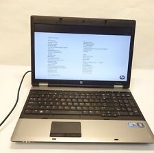 HP Probook 6550B Laptop, Core i3 2.27ghz 4gb ddr3 Cleaned & Tested