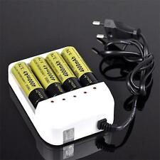 i4 Intelligent Li-ion/NiMH 18650/26650/AA/AAA Battery Charger 4 Output