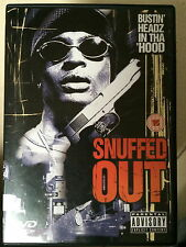 SNUFFED OUT ~ Crime / Gangsta Thriller UK DVD