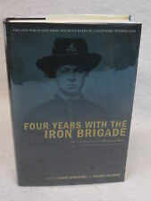 Herdegen & Murphy FOUR YEARS WITH THE IRON BRIGADE De Capo 2002 1stEd SIGNED
