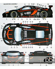STUDIO 27 MP4-12C BOUTSEN GINION #16 MONZA 2014 DECAL for FUJIMI 1/24 McLAREN