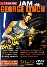 Lick Library Learn To Play Jam con George Lynch Wicked Sensation Hit Guitarra Dvd
