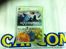 XBOX360 GAME ACE COMBAT 6 AND KATAMARI DAMACY (ORIGINAL BRAND NEW)