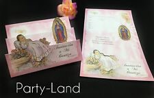 25 Invitaciones De Bautizo Spanish Christening baptism Invitations Party Favor
