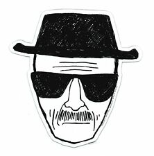 BREAKING BAD, Heisenberg Face, Officially Licensed, Die-Cut Car MAGNET - Car Mag