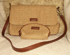 Bertolli weave shoulderbag/handbag& purse. (88)