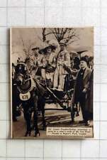 1937 Prize Coster Outfit Van Horse Parade Regents Park, So Lionel Faudell Philli