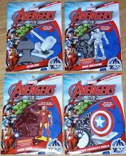 Marvel Avengers Set of 4 Metal Earth 3D Models Iron Man War Machine Thor Shield