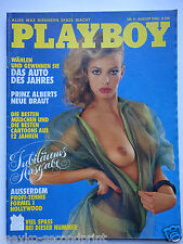 Playboy - D 8/1984, Patrizia Pellegrino, Bruce Springsteen Sybil Danning, Pèus A