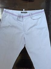 Men's Arthur Galan baby blue chino pants 100% cotton very good condition size 32