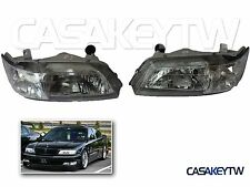 New Headlights Chrome Head Light For 1996-1999 INFINITI I30 NISSAN MAXIMA