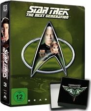 STAR TREK: THE NEXT GENERATION, Season 3 (6 Blu-ray Discs, Steelbook + Pin) NEU+