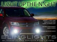 2011 2012 2013 2014 Dodge Journey Xenon Halogen Fog Lamps Driving Lights Kit