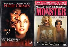 High Crimes (DVD, 2002) & Monster (DVD, 2004)