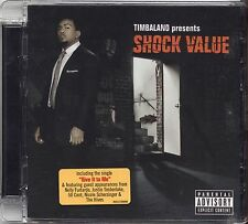 TIMBALAND - Shock value - CD 2007 NEAR MINT CONDITION