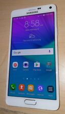 EXCELLENT! Samsung Galaxy Note 4 SM-N910P - 32GB - Frost White (Sprint) Loc