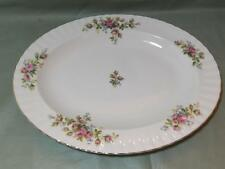 "Royal Albert Moss Rose Oval Meat Serving Platter 13.75"" (Lot A)"