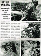 Coupure de Presse Clipping 1978 (1 page) Ursula Andress