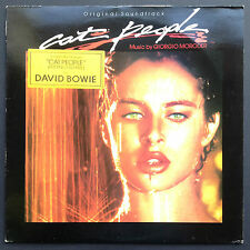 David Bowie CAT PEOPLE Film Soundtrack OST LP GIORGIO MORODER Nastassia Kinski M