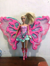 BARBIE Flower 'N Flutter Fairy Barbie Doll, Preloved