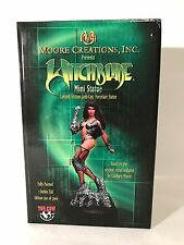 "Moore Creations Witchblade 7"" Statue Coldcast Porcelain 2827/5000 Rare In Box"