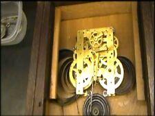 Clock Repair DVD Video - Repairing the New Haven Time & Strike Mantel Clock