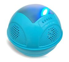 NEW Pyle PWR95SBL Floating Bluetooth Speaker W/FM/SD/Solar-Rechargeable Battery
